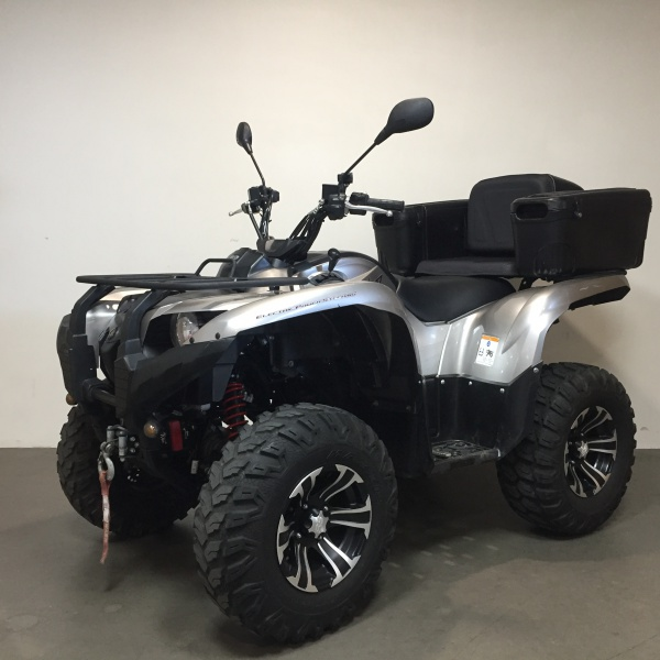 222 Yamaha Grizzly 700 incl kenteken