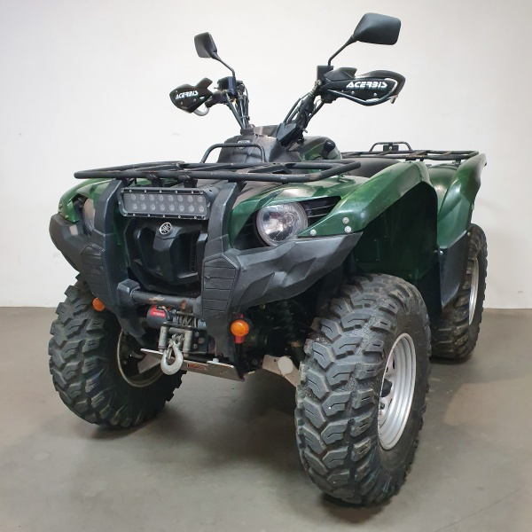 222 Yamaha Grizzly 700
