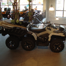 222 Can-am Outlander 1000 6x6 XT