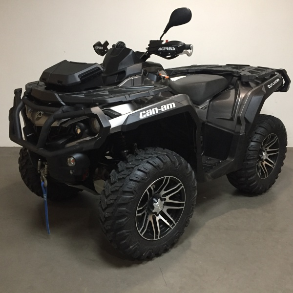 222 Can-am Outlander 1000 XT incl kenteken